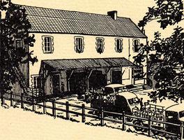 Croquis de la Laiterie en 1959